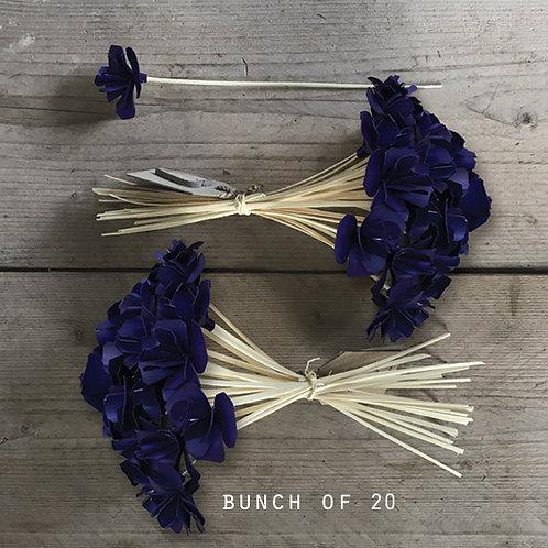 East of India Bunch of Flowers - Dark Purple