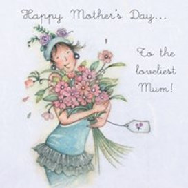 Loveliest Mum Berni Parker Card