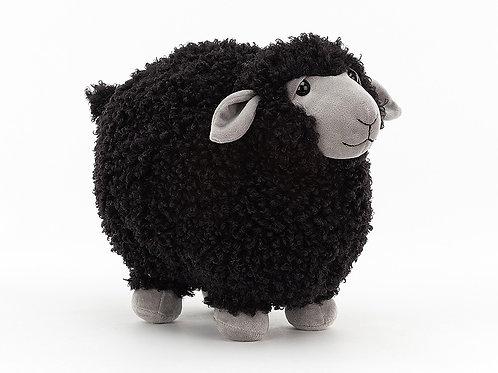 Jellycat Rolbie Sheep Black