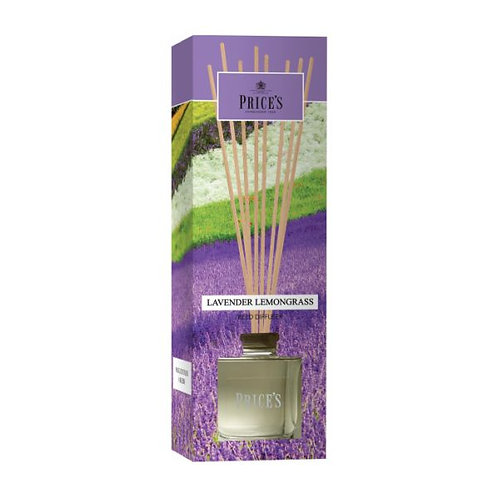 Prices Lavender and Lemongrass Reed Diffuser