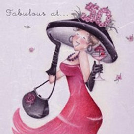 Fabulous at... 50 Berni Parker Card