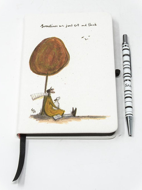 Sam Toft 'Mustard Collection' Notebook and Pen Set