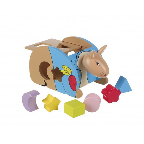 Peter Rabbit Shape Sorter