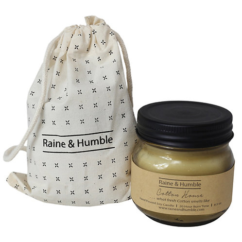 Raine and Humble Cotton House Soy Candle