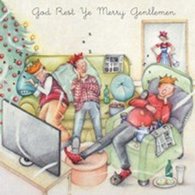 Berni Parker God Rest Ye Merry Gentleman Card