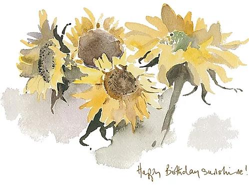 Happy Birthday Sunshine! Trumpers World Card