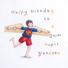 Happy Birthday Grandson Berni Parker Card