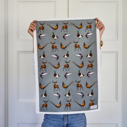 Katie Cardew Country Estate Tea Towel
