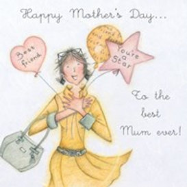 Best Mum Ever Berni Parker Card