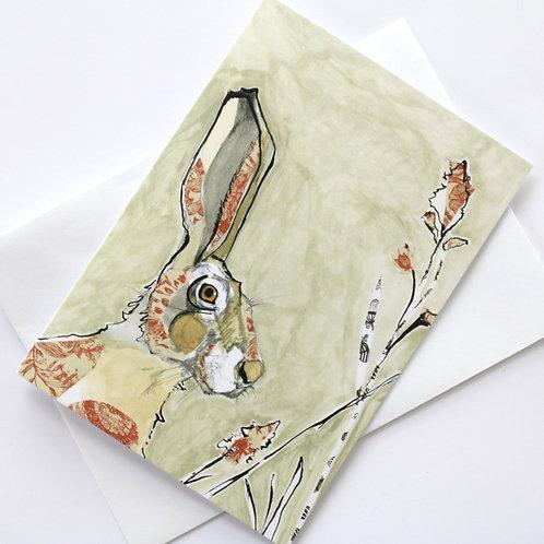 Hare in the Sweater - Hearld Hare Wild Card