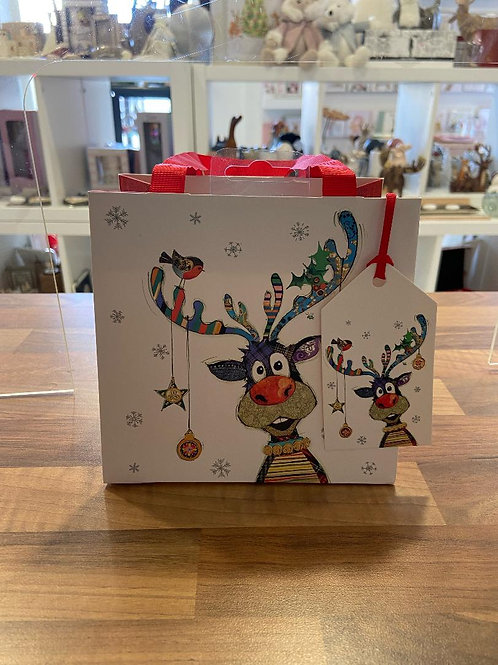 Christmas Small Gift Bags - Various Designs