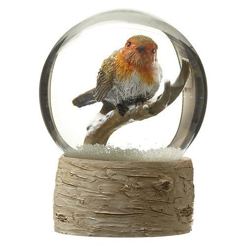 Snowglobe with Robin