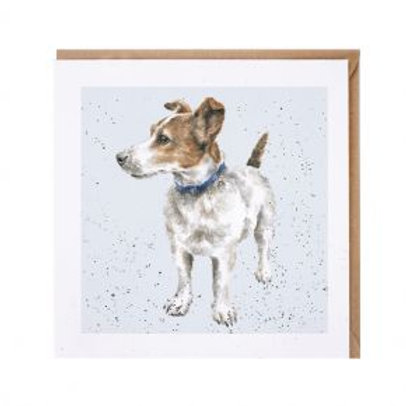 Jack Russell Wrendale Card
