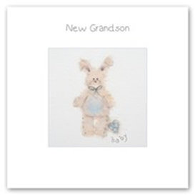 New Grandson Berni Parker Card
