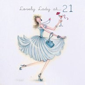 Lovely Lady at... 21 Berni Parker Card