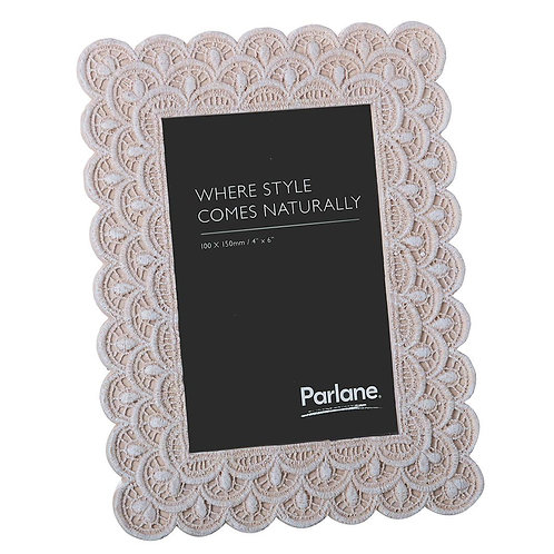 Parlane Crochet Pattern Picture Frame