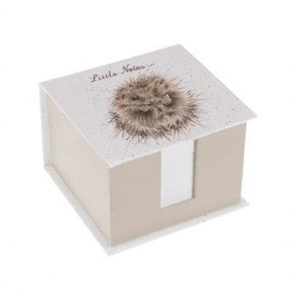 Wrendale Memo Block - Hedgehog