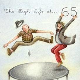 The high life at... 65 Berni Parker Card