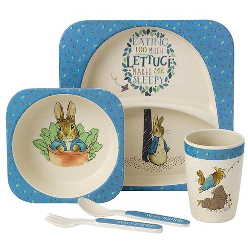 Peter Rabbit 5 Piece Organic Dinner Set