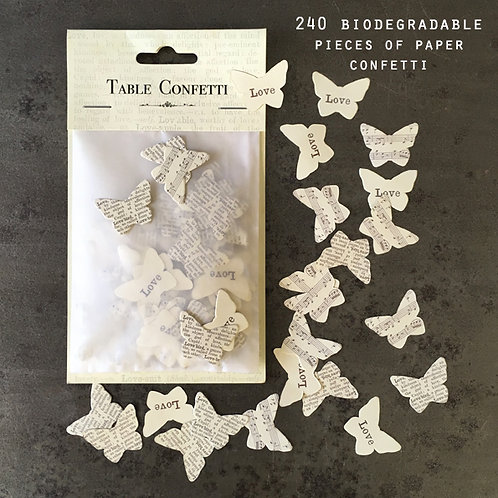 East of India Table Confetti - Butterflies