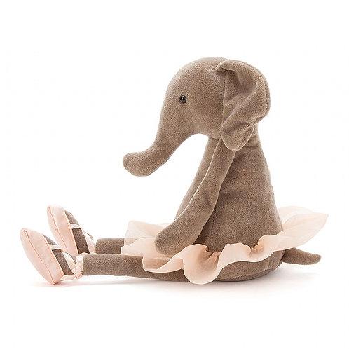 Jellycat Dancing Darcey Elephant (Medium)