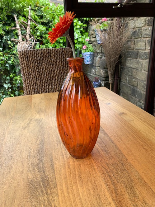 Divine Orange Ola Tall Vase