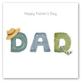 Happy Fathers Day Berni Parker Card