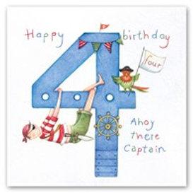 Happy Birthday... Ahoy there captain... 4 Berni Parker Card