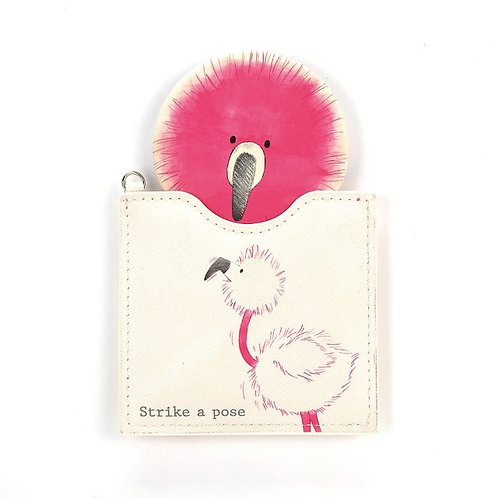 Jellycat Flaunt Your Feathers Compact Mirror