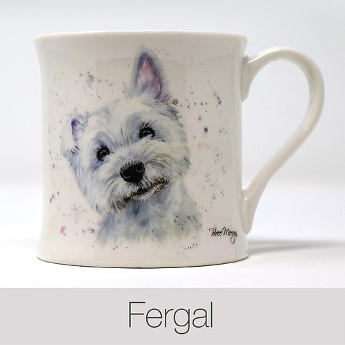 Bree Merryn Fergal the West Highland Terrier Mug