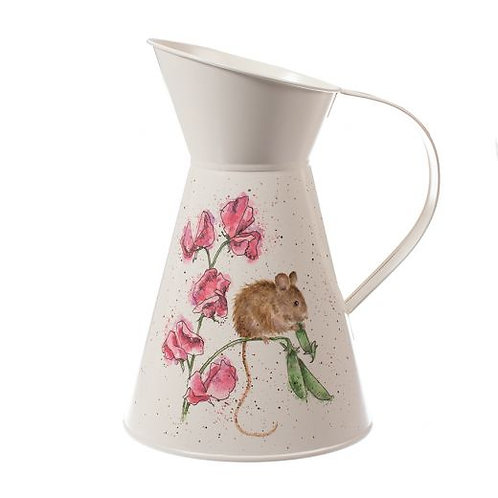 Wrendale Pea Thief Flower Jug