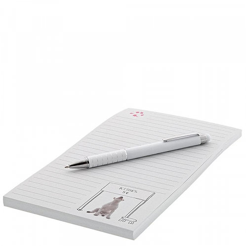 Jimmy the Bull Kisses for Sale Notepad and Pen Set