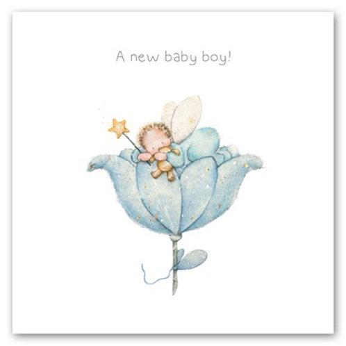 A new baby boy! Berni Parker Card