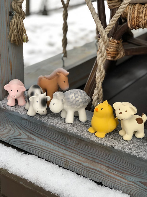 My First Tikiri Farm Animal and Bath Toys