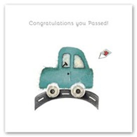 Congratulations you passed! Berni Parker Card