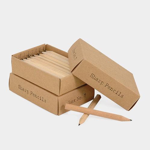 East of India Box No.7 - Sharp Pencils