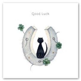 Good Luck Berni Parker Card