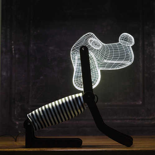 Bentley and Bo 'Blue Dog Table Lamp'