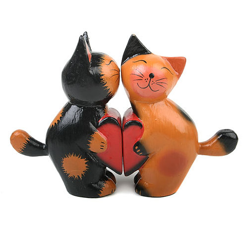 Shared Earth Two Cats Broken Heart