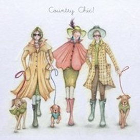 Country Chic Berni Parker Card