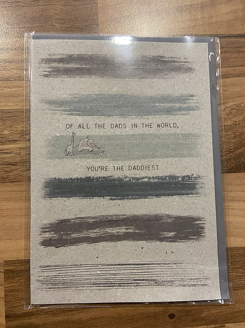 East of India Of all the dads in the world, your the daddiest Card