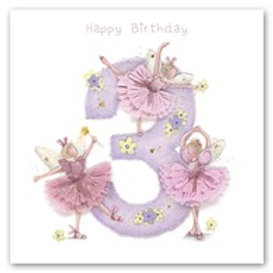Happy Birthday... 3 Berni Parker Card
