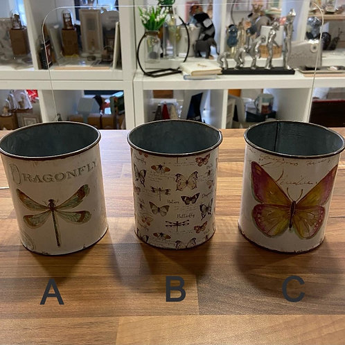 Tin Pots - Various Designs