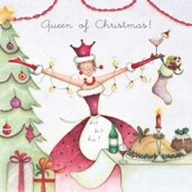 Berni Parker Queen of Christmas Card