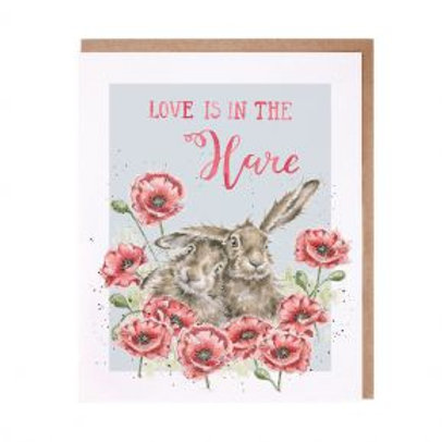Love is in the Hare Wrendale Card