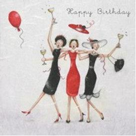 Happy Birthday Berni Parker Card