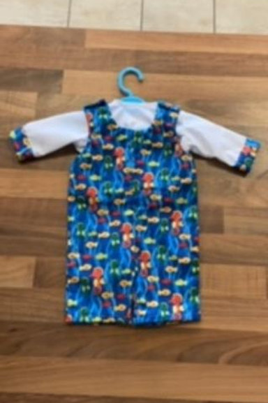 Seahorse Dolly Dungarees
