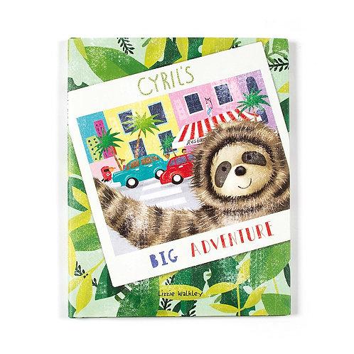 Jellycat Cyril's Big Adventure Book