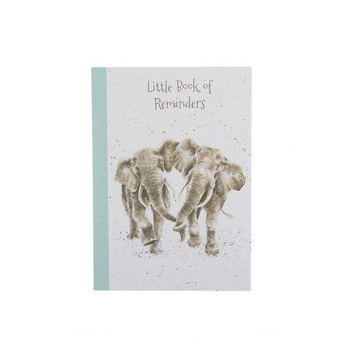 Wrendale A6 Elephant Notebook
