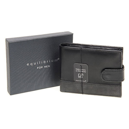 Equilibrium Black/Grey Men's Wallet